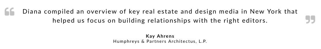 Kay Ahrens testimonial