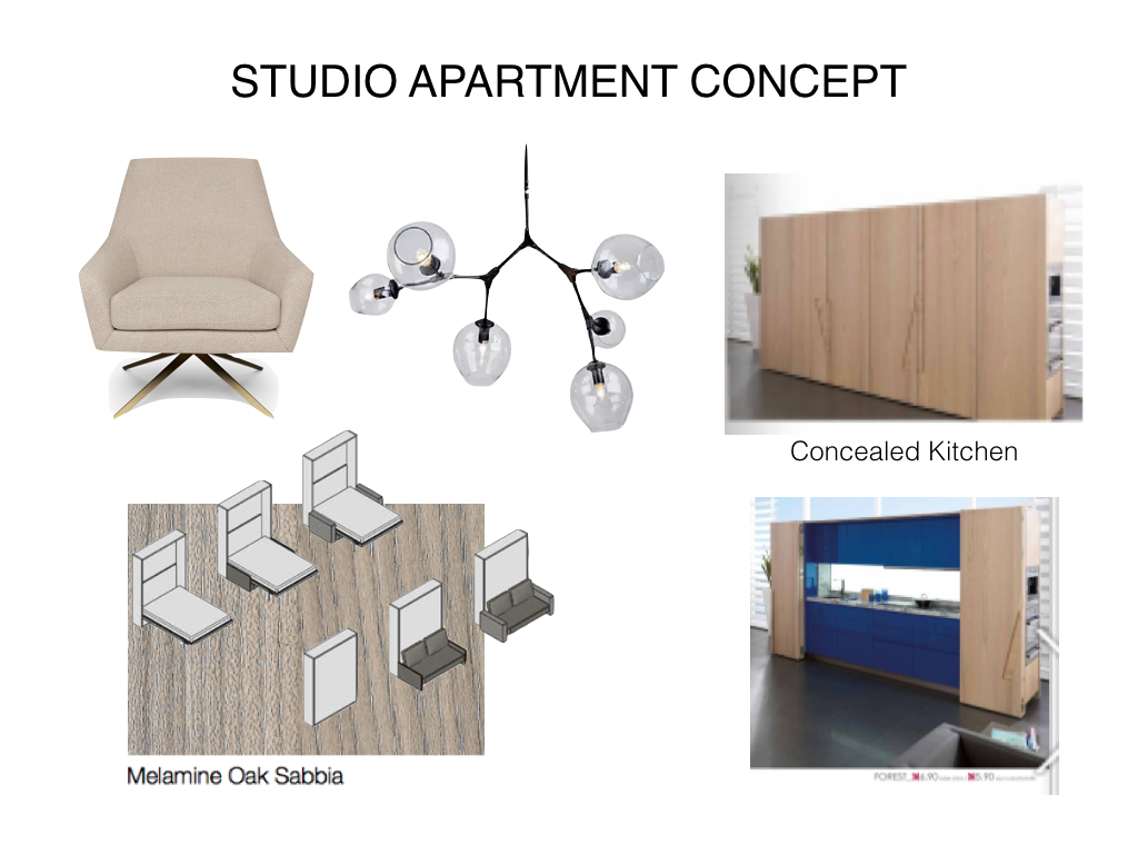 Studio Apartment Concept