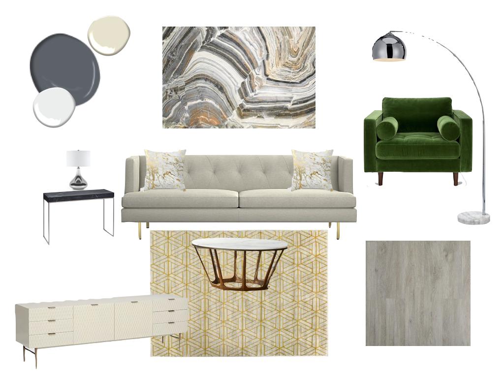 Model Unit Living Room Interior Design